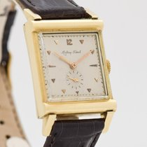 Mathey-Tissot Yellow gold 25mm Manual winding pre-owned United States of America, California, Beverly Hills