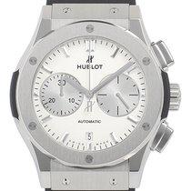 Hublot Classic Fusion Chronograph Stahl 45mm Silber Keine Ziffern Deutschland, Bietigheim-Bissingen