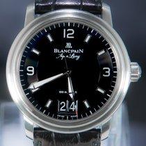 Blancpain Сталь Автоподзавод Черный Aрабские 40mm подержанные Léman Ultra Slim