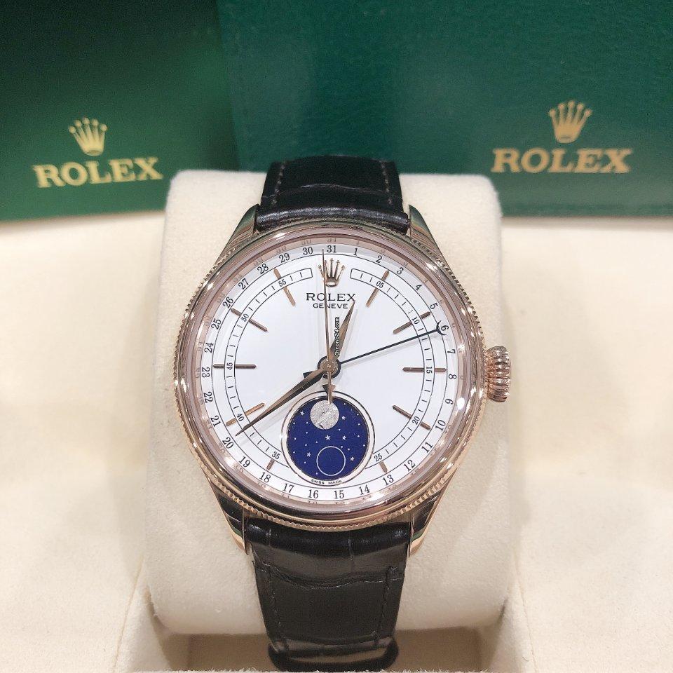 Rolex Cellini Moonphase M50535-0002 новые