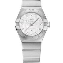 Omega Constellation Ladies Сталь 27mm Белый
