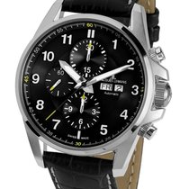 Jacques Lemans Steel 44mm Automatic 1-1750A new