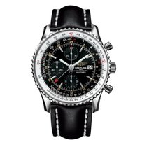 Breitling Navitimer World Steel 46mm Black United States of America, New York, New York