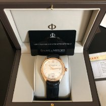 Baume & Mercier Rose gold Automatic 39mm pre-owned Clifton