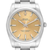 Rolex Oyster Perpetual 34 Steel 34mm White United States of America, Georgia, Atlanta