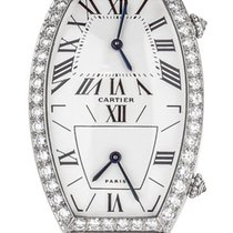 Cartier Tonneau 2459 Very good White gold Quartz United States of America, Illinois, BUFFALO GROVE