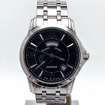 Maurice Lacroix Pontos Day Date Steel 40mm Black United States of America, Illinois, BUFFALO GROVE