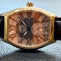 Ulysse Nardin Yellow gold Automatic 38mm pre-owned Michelangelo