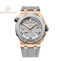Audemars Piguet Royal Oak Offshore Diver Rose gold 42mm Grey United States of America, New York, New York