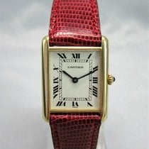Cartier Tank (submodel) Cartier Tank  Gold pre-owned