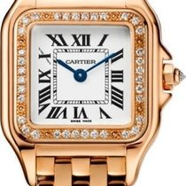 Cartier Panthère Oro rosa 30mm Blanco