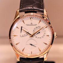 Jaeger-LeCoultre Red gold Automatic pre-owned Master Ultra Thin Réserve de Marche