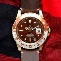 Rolex GMT-Master Geelgoud 40mm Bruin