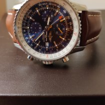 Breitling Navitimer World Steel 46mm Blue UAE, Dubai