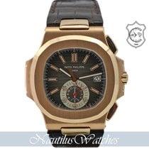 Patek Philippe Nautilus 5980R-001 Very good Rose gold 40mm Automatic