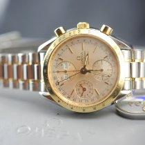 Omega Speedmaster Date Gold/Steel 40mm White