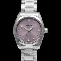 Omega Seamaster Aqua Terra Steel 28mm Purple United States of America, California, San Mateo