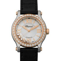 Chopard Happy Sport Staal 30mm Wit