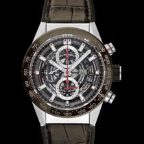 TAG Heuer Carrera Calibre HEUER 01 Steel 43mm Brown United States of America, California, San Mateo