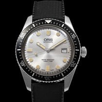 Oris Steel Automatic Silver 42mm new Divers Sixty Five