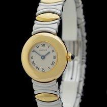 Cartier Baignoire Gold/Stahl 24mm Silber Römisch Deutschland, Frankfurt am Main