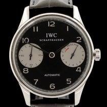 IWC Portuguese Automatic occasion 42mm Noir Cuir