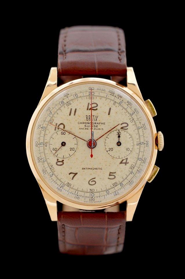Chronographe Suisse Cie 105 0 61 1960 подержанные