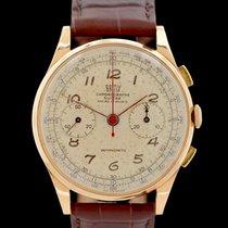 Chronographe Suisse Cie Rotgold 37.5mm Handaufzug 105 0 61 gebraucht Deutschland, Frankfurt am Main