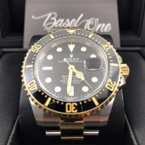 Rolex Sea-Dweller Gold/Steel 43mm Black
