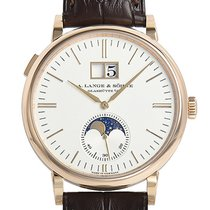 A. Lange & Söhne Saxonia Red gold 40mm Silver (solid) No numerals