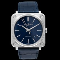 Bell & Ross BR S BRS92-BLU-ST/SCR New Steel 39mm Automatic United States of America, California, San Mateo