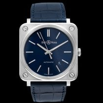 Bell & Ross Steel 39mm Automatic BRS92-BLU-ST/SCR new United States of America, California, San Mateo
