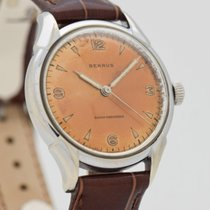 Benrus Steel 32mm Manual winding pre-owned United States of America, California, Beverly Hills