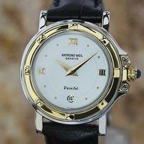 Raymond Weil Parsifal Acero y oro 27mm Blanco