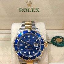 Rolex Submariner Date Acero y oro 40mm Azul Sin cifras España, Madrid