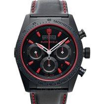 Tudor Fastrider Black Shield neu Automatik Uhr mit Original-Box und Original-Papieren 42000CR-0002