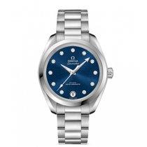 Omega Seamaster Aqua Terra Blue No numerals