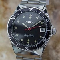 Orient Gold/Steel 34mm Manual winding pre-owned