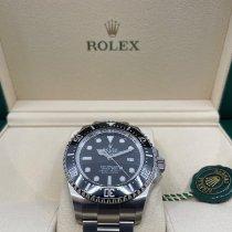 Rolex Sea-Dweller Deepsea Zeljezo 44mm Crn Bez brojeva