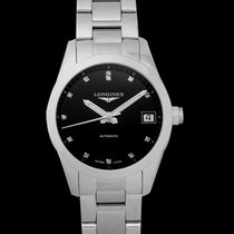 Longines Women's watch Conquest Classic 34mm Automatic new Watch with original box 2021