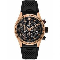 TAG Heuer Chronograph Black new Carrera Calibre HEUER 01