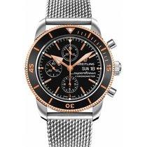 Breitling Superocean Héritage II Chronographe Negro