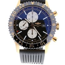 Breitling Chronoliner Red gold 46mm Black