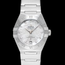 Omega Constellation Steel 29mm White United States of America, California, San Mateo