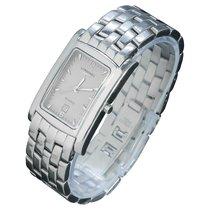 Longines Elegant Steel 23mm Grey Arabic numerals