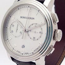 Boucheron new Automatic 44mm Steel Sapphire crystal
