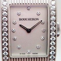 Boucheron Reflet Steel 21mm White No numerals