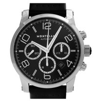 Montblanc Timewalker Steel 43mm Black Arabic numerals United States of America, Florida, Surfside
