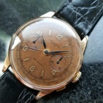Chronographe Suisse Cie Yellow gold 37mm Manual winding pre-owned United States of America, California, Beverly Hills