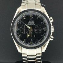 Omega Speedmaster Broad Arrow pre-owned 42mm Black Chronograph Date Tachymeter Steel